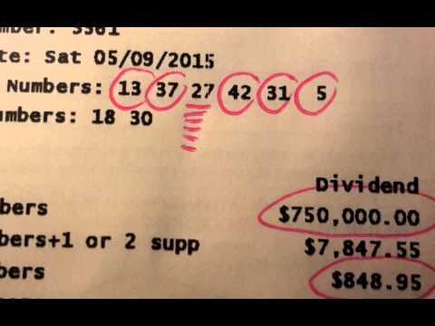 how to win saturday lotto australia