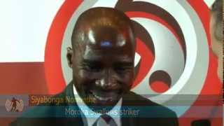 2011/12 PSL Awards - Siyabonga Nomvethe interview