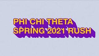 PCT UMD Spring 2021 Rush