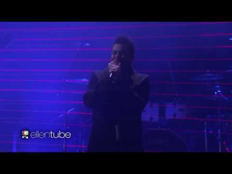 Starboy live Ellen tube