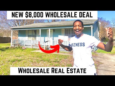NEW $8,000 Wholesale Real Estate Deal Breakdown!