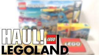 LEGOLAND Florida HAUL! | LEGOLAND Exclusives, Pick-A-Brick, and MORE!