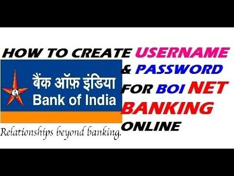 Boi Internet Banking Setup
