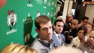 Brad Stevens: it takes a team effort to guard LeBron James
