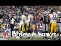 Steelers Score Touchdown and 2-Point Conversion | Steelers vs. Patriots | NFL
