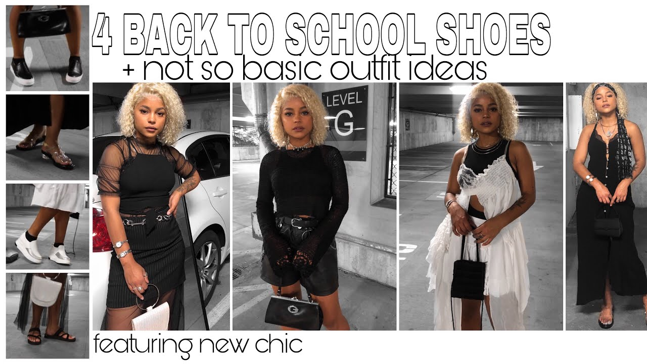 [VIDEO] - 4 BACK TO SCHOOL SHOES FROM NEWCHIC + OUTFIT IDEAS || ARIANA.AVA 1
