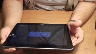 Hard Reset планшета Acer Iconia Tab A211 - Обзор(Как выполнить Hard Reset планшета Acer Iconia Tab A211 если вдруг на вас напал склероз!!! ;) 1. Выключите планшетный компьют..., 2014-06-24T18:39:39.000Z)