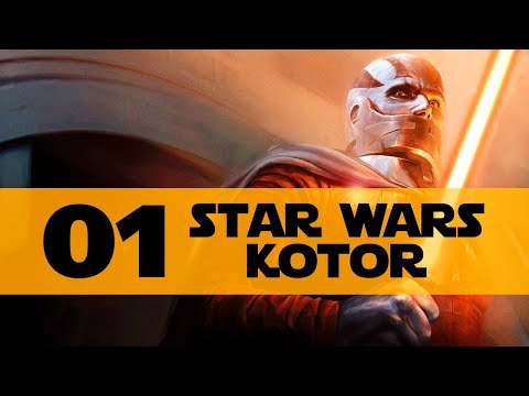 Star Wars KOTOR Gameplay Walkthrough Part 1 (Let's Play Knights of the Old Republic)