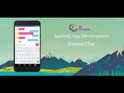 Android Studio Tutorial - Simsimi Chat App