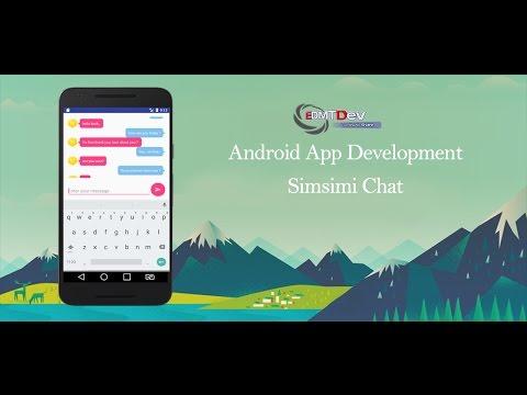 android-studio-tutorial---simsimi-chat-app