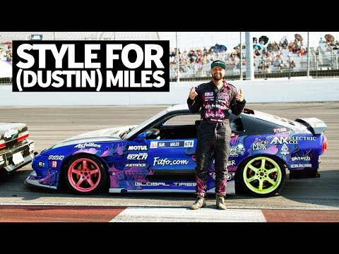 A Pro2 Drift Car... With Style?? Dustin Miles' 1JZ 240sx!