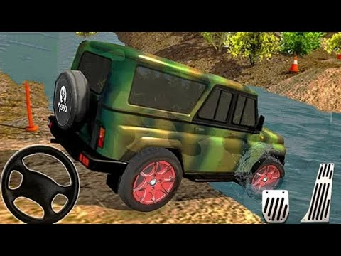 Off road Jeep Car Racing Game - Extreme SUV Driver Simulator - Android Game Play - Racing Cars Games