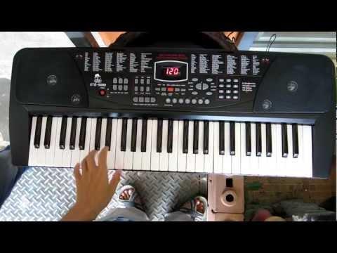 electronic keyboard XTS 5089