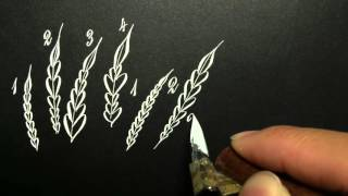 How to Draw Heart Leaves (Variations)