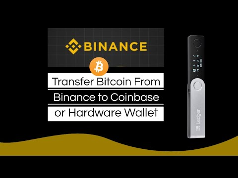 How To Transfer Bitcoin From Binance To Coinbase