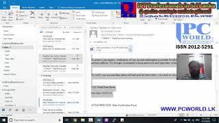 Phishing Emails - අපව රවට්ටන පිෂින් ඉමේල්ස්