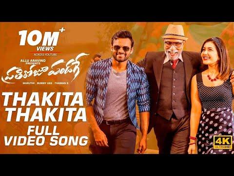 prati-roju-pandaage-video-songs -thakita-thakita-full-video-song- -sai-tej,-raashi-khanna- thaman-s