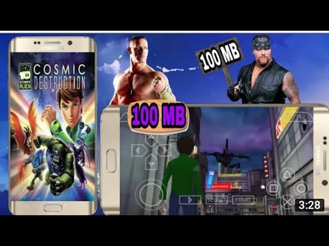 (100mb) Ben 10 Ultimate Alien Cosmic Destruction Highly Compressed Download On Android Ppsspp