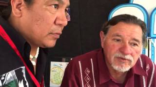 Walking around Santa Fe Indian Market 2015 with Harlan McKosato 4