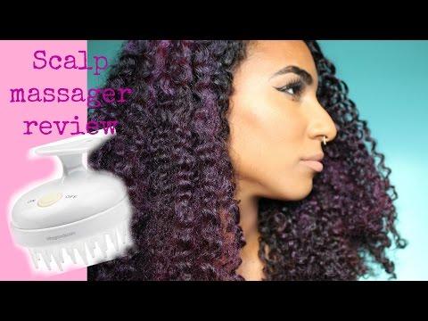 Vitagoods Scalp massaging shampoo brush review and maximising hair growth