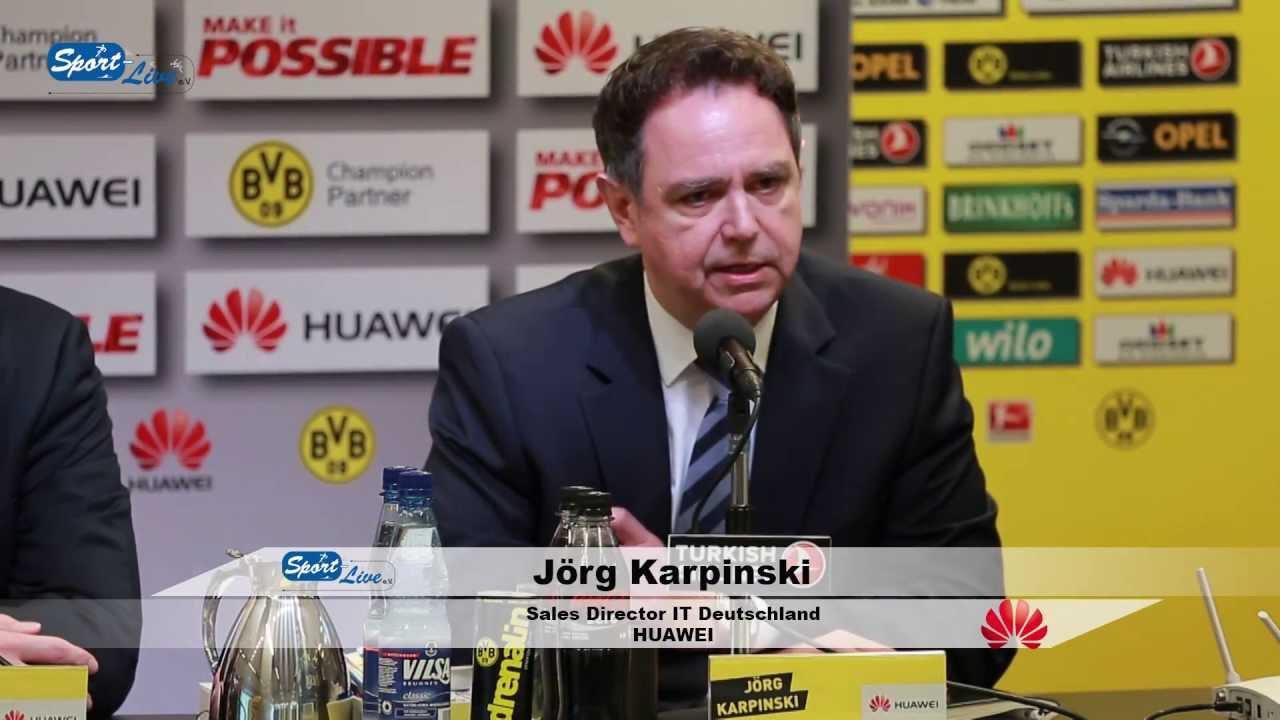 HUAWEI ist neuer Champion Partner des BVB