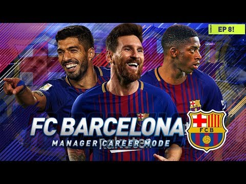 FIFA 18 Barcelona Career Mode - EP8 - UCL RETURNS, LEO MESSI PLAYER OF THE MONTH
