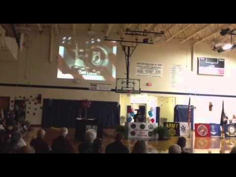 Zeigler Royalton Elementary School Veterans Salute 2014