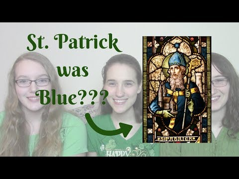 St. Patrick's Color was Blue? - And other fun facts for St. Patrick's Day