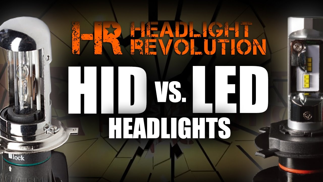 Hid Vs Led Headlights Pros And Cons Of Each Headlight Revolution Conversion Kit Wiring Diagram 08 Altima