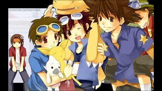 Digimon savers going going my soul [nightcore (op 1)]