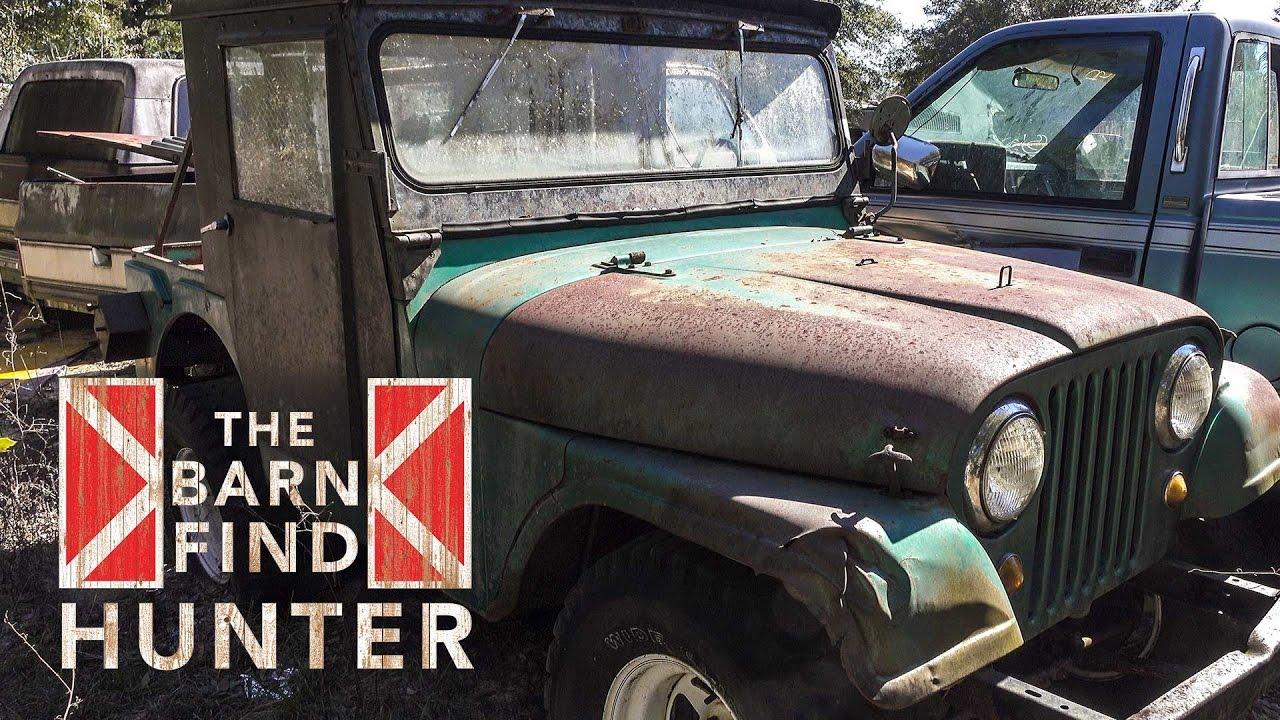 Unseen Barn Find Hunter Footage Barn Find Hunter Ep 9