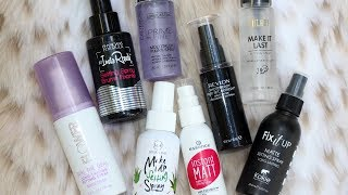 Best & Worst Drugstore Setting Sprays | 8 WEAR TESTS