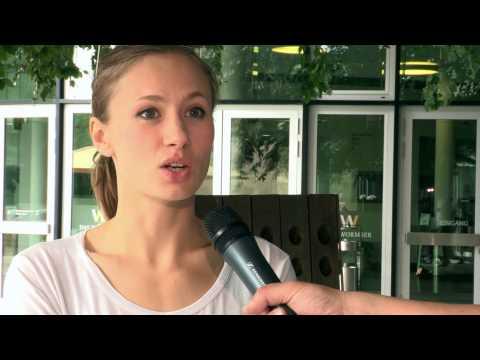 Exklusives Kurzinterview Heute: Alina Levshin / Ortlieb - Interview: Peter Kühn