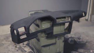 Flocking your Dash (DIY Rally Dash)