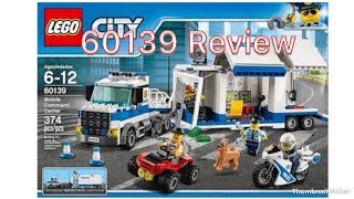 Lego City 60139 Mobile Command Center Unboxing and Review || Vedant Tiwari ||