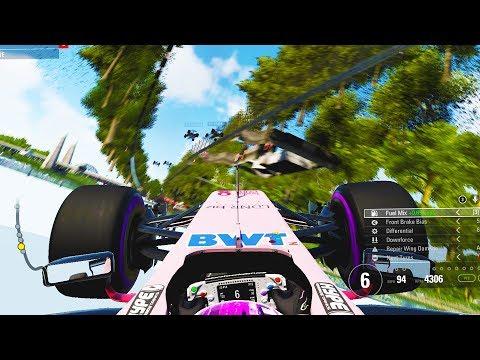 I THINK I BROKE THE GAME - F1 2017 Career Mode Part 87