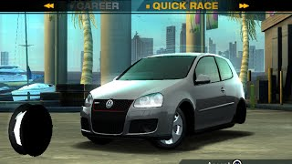 NFS Undercover (PS2) Unfinished Cars - Volkswagen Golf GTI