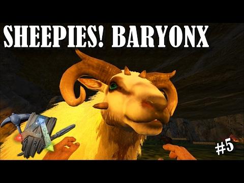 ARK UPDATE, SHEEP AND BARYONX TAMING!