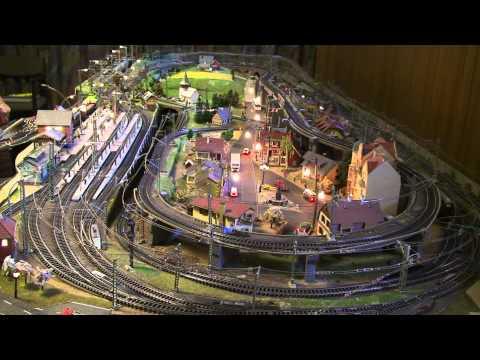 Modeljernbane på Amager