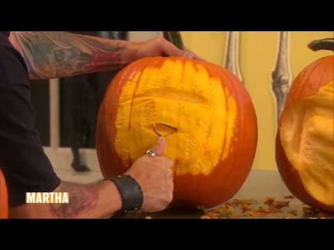 How to Carve Incredible Pumpkin Faces ⎢Ray Villafane⎢Martha Stewart