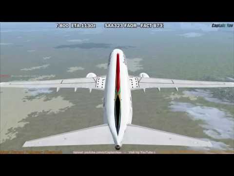 [FSX] PMDG 737 NGX | Johannesburg (FAOR) to Cape Town (FACT) Part 2