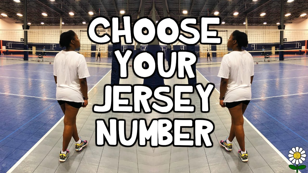 How To Choose Your Jersey Number Youtube