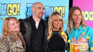 Teen Titans Go! 200 Episodes Red Carpet: Voice Actors