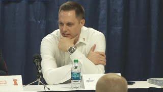 Illinois Volleyball | Post-Match Press Conference vs. Utah | 12/6/19 thumbnail