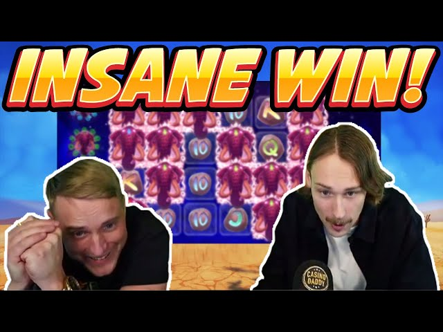 INSANE WIN! Pink Elephant Big win - HUGE WIN on Casino slots from Casinodaddy LIVE STREAM