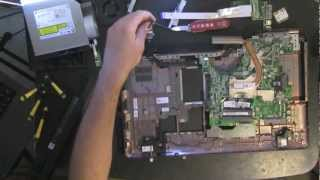 DELL INSPIRON 1764 take apart, disassemble, how to open video disassembly