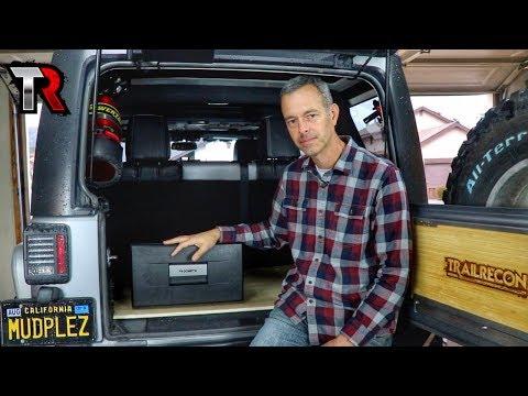 DIY Jeep Storage Platform & Dometic Drawer Fridge Review
