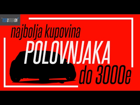Koji Autopolovnjak Kupiti Do 3000 Eura Youtube