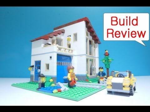 Lego Creator (레고) 31012Family House - Build Review