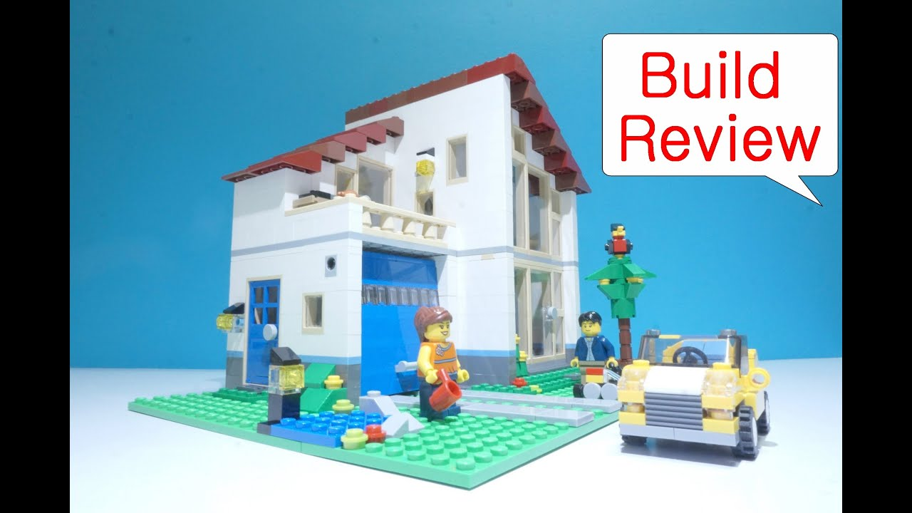 Lego Creator 31012 Family House Build Review Youtube
